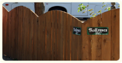 Redwood and Cedar Fencing
