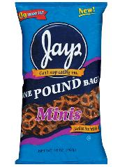 Jays Minis Pretzel Rods