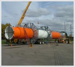 8' x 100' Insulated Exhaust Stack