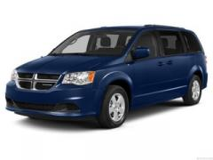 2013 Dodge Grand Caravan Crew Van Passenger Car