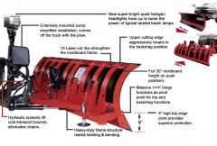 Hiniker 8000 Series Reversible C-Plow