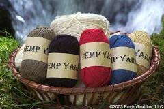 Yarns, Hemp and Blend