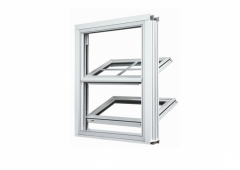 Aluminum Windows, Twinsulator Series DH