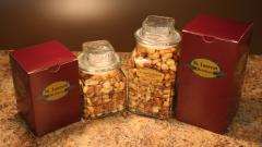 Fancy Mixed Nut Decanter