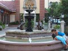 Court of the Penguins Fountain
