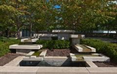 E. F. Pierson Sculpture Garden Fountain