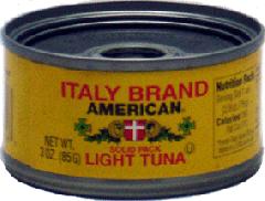 Italy Brand American Tuna Fish in Olive Oil