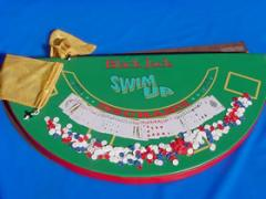 Swim Up® Floating Blackjack Table