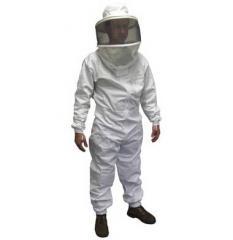 V01230 cricket style hat & veil suit