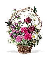 Teleflora's Butterfly Basket