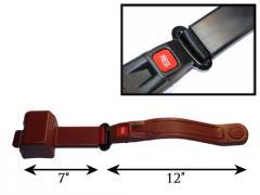 2-Point Retractable Lap Belt w/Push Button &