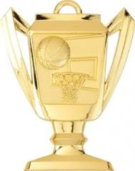 Basketball Trophy Cup Medal