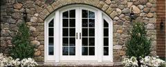 Arch Top French Doors Marvin
