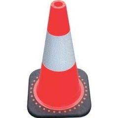 """18"""" Cone with Reflective Collar Traffic"""