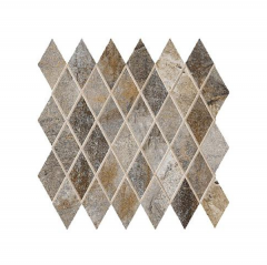 Vesale Stone 2x3.5 Diamond Mosaic on 13X13 Tile
