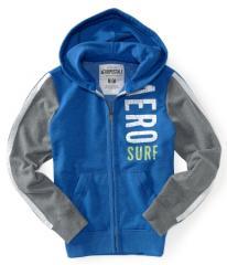 Aero Surf Colorblocked Full-Zip Hoodie