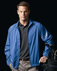 Golf ClimaProof Striped Full-Zip Jacket