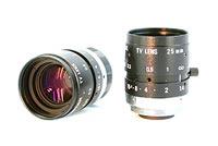 Cosmicar Pentax C2514-M 25mm lens