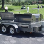 CC4000 Tow-Behind Grill