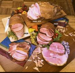 Hickory Smoked Bone-In Cured Ham (13-15 lbs)