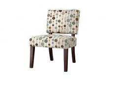 Bubbles Vale Open Back Slipper Accent Chair