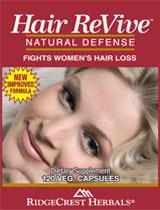 Hair ReVive Natural Supplement