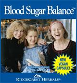 Blood Sugar Balance Natural Supplement