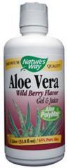 Aloe Vera Wild Berry Flavor Gel and Juice