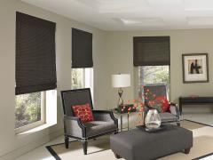 Manh Truc® Custom Woven Shades, Panel Track