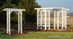 White Oak Arbors and Pergolas