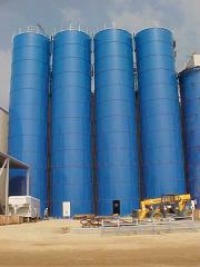 Dry Bulk Systems and Storage Tanks