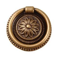 Classic Hardware Flower Center Ring Pull