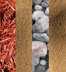 Mulch, Sand, & Stone