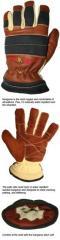 The Pro-Tech 8 Titan K Firefighting Gloves