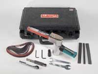 Dynafile II Abrasive Belt Tool Versatility...
