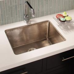 Brushed Nickel Bistro Sink