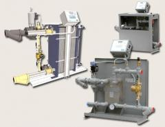 Packaged Plate Water Heater