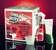Cleaner & Degreaser, One Wipe