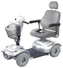 SCOOTER - 4 Wheel Golden Avenger-w/o Battery