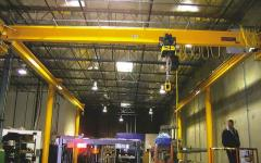 T-Trac Enclosed Workstation Cranes by Kundel