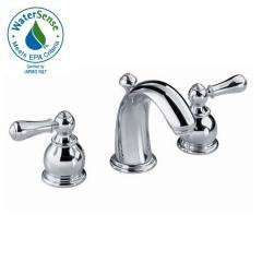 Hampton Widespread Bath Faucet - Crescent Spout