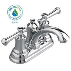 Portsmouth Centerset Faucet w/ Lever Handles