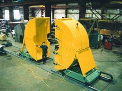 Jet Engine Test Shroud System American Crane