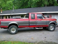 1993 FORD F250 EXT CAB