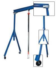 Adjustable & fixed steel gantry cranes