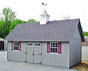 12x20 Stafford Two-Story - wood