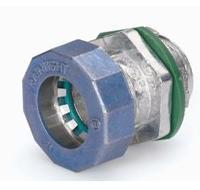 Push-on EMT connector