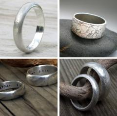 Handmade Rings for Him by From Britain With Love