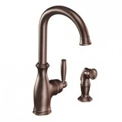 Brantford Oil rubbed bronze one-handle high arc