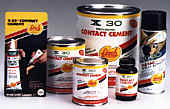 X30 - Contact Cement and Fas-Tac Spray Adhesive